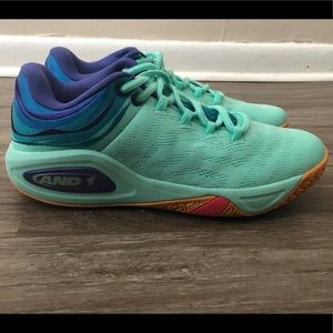 AND 1 Attack Low Men's Harmonix RX Size 11.5 NEW